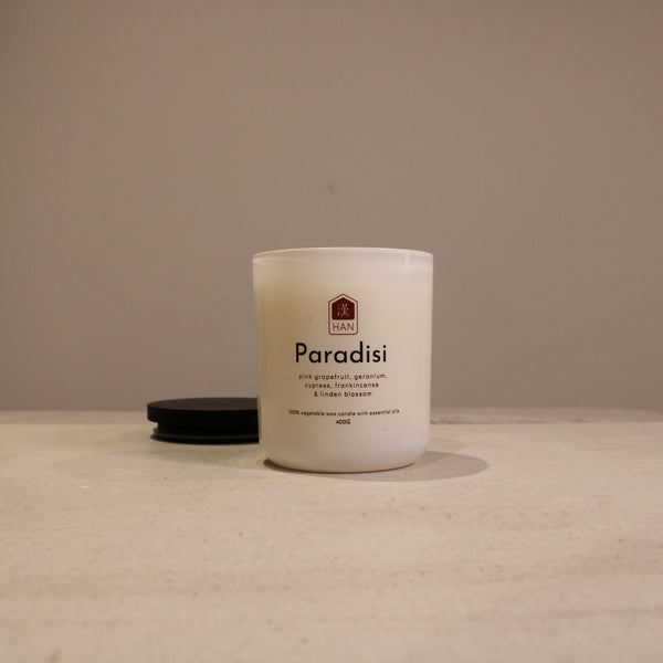 PARADISI: Essential Oil Candle (400g)