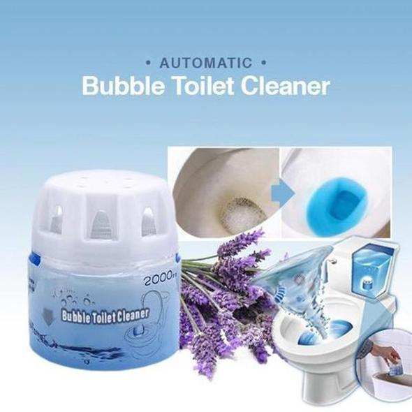 💥BUY MORE SAVE MORE💥Automatic Bubble Toilet Cleaner-over 2000 times in cold water!