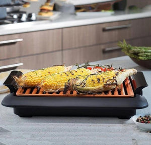 Non-Stick Fast BBQ Smokeless Grill-Indoor Electric Grill
