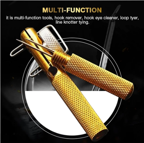 (Hot selling 500,00 items )Fast Fishing Knot Tying Tool