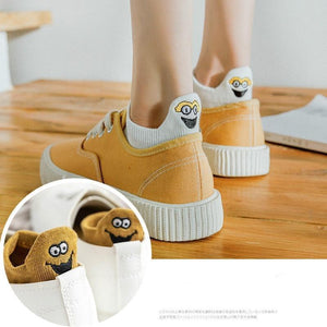 Hot Sale - Embroidered Cartoon Women Socks