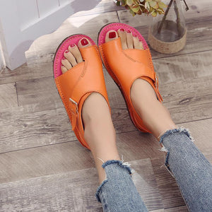SOFT LEATHER WOMEN SANDALS