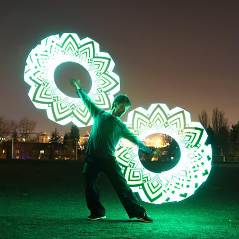 Save 50% Only Today: Poi Glow Sticks (15 Patterns)