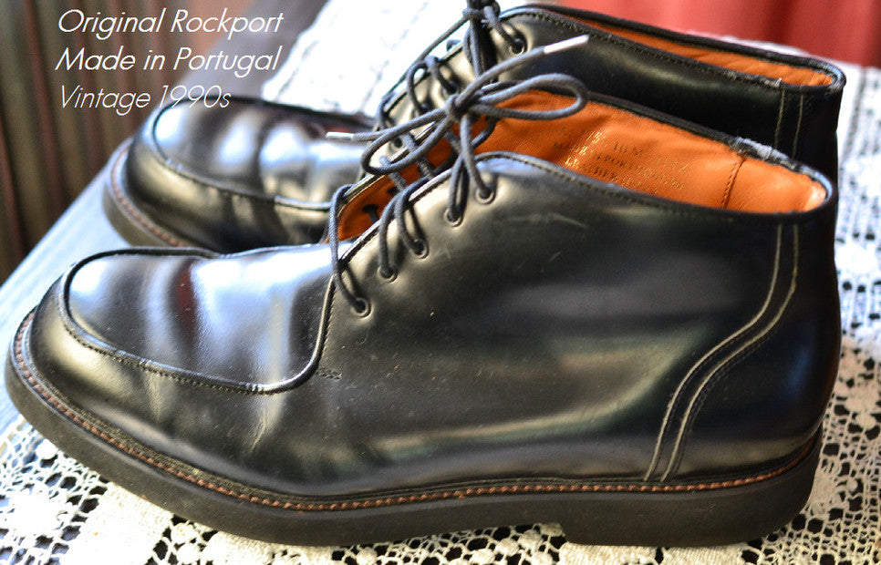 Rockport 10-hole Boot ApplePickerVintage on Etsy