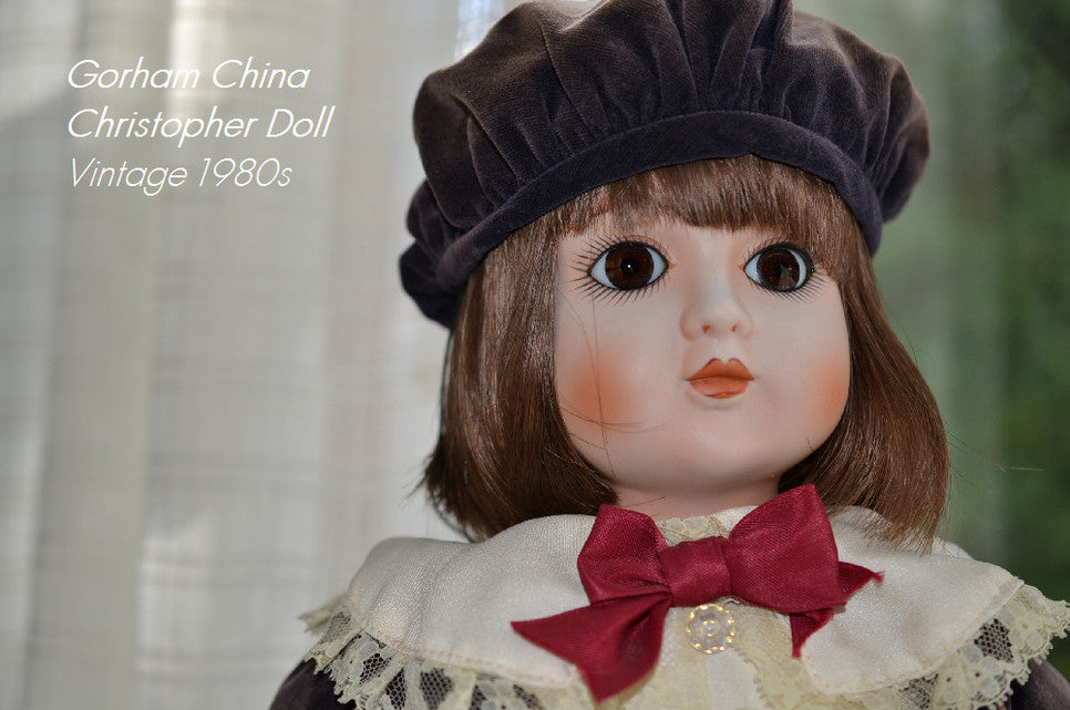 Gorham China Christopherm Doll ApplePickerVintage on Etsy