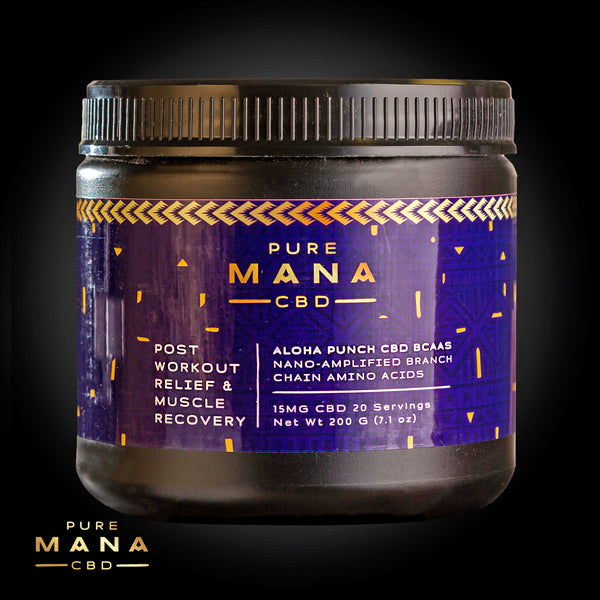 BACKORDERED: Aloha Punch BCAAs - Pure Mana CBD