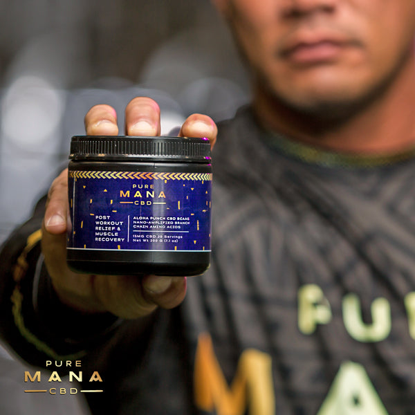 Aloha Punch BCAAs : 40% OFF Heroes Discount - Pure Mana CBD