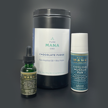 Load image into Gallery viewer, 💪🏽 KOA Active Stack: Protein + Muscle Rub + Mana Oil : 40% OFF Heroes Discount - Pure Mana CBD