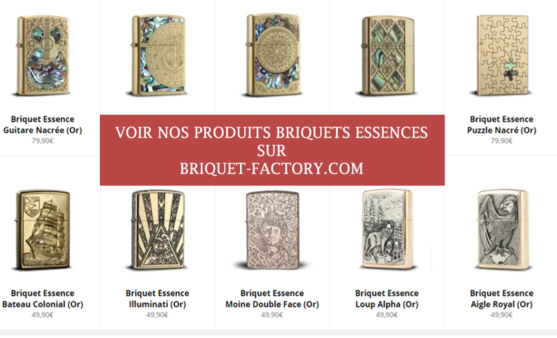 briquet essence