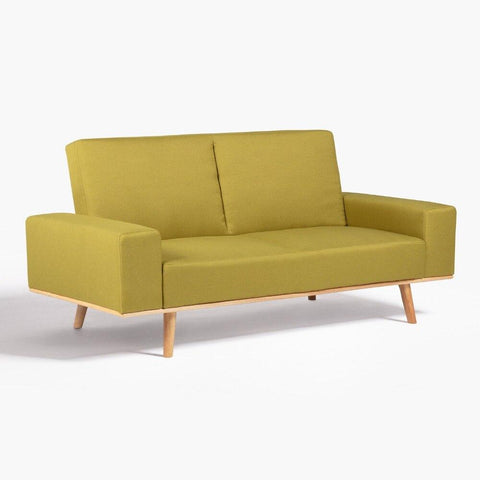 Canapé Convertible </br> Scandinave Vert HESSON