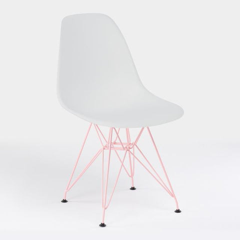 Chaise Scandinave </br> Eiffel Rose EAMES
