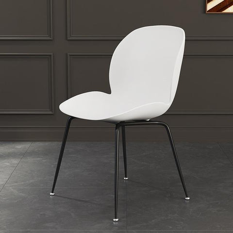 Chaise Scandinave </br> Blanche Coccinelle
