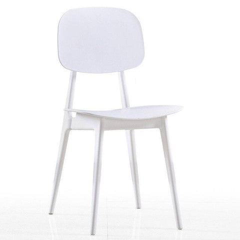 Chaise Scandinave </br> Blanche Minimal