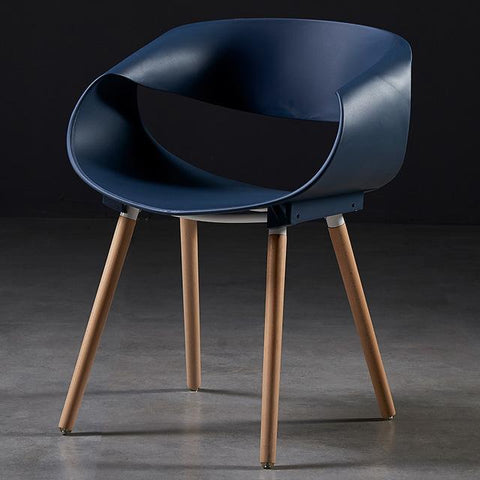 Chaise Scandinave </br> Bleue Design