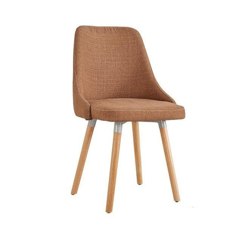 Chaise Scandinave </br> Lin Marron Moderne