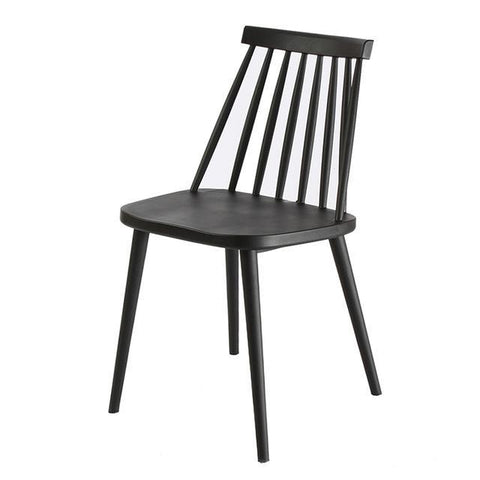 Chaise Scandinave </br> Noire WINDSOR