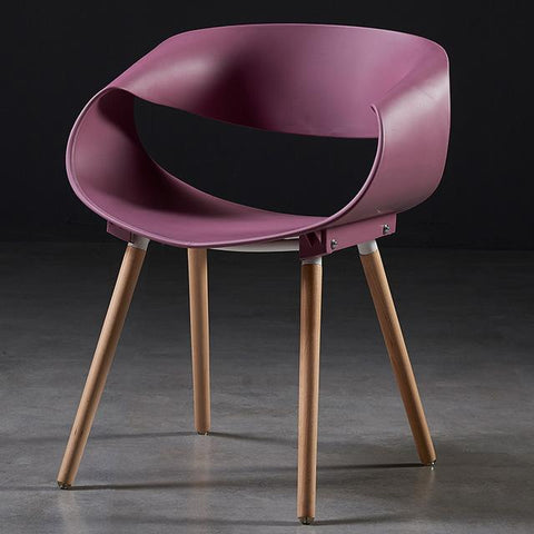 Chaise Scandinave </br> Rose Design