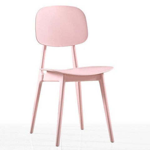 Chaise Scandinave </br> Rose Minimal