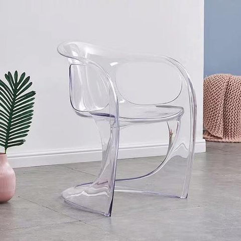 Chaise Scandinave </br> Transparente Accoudoirs