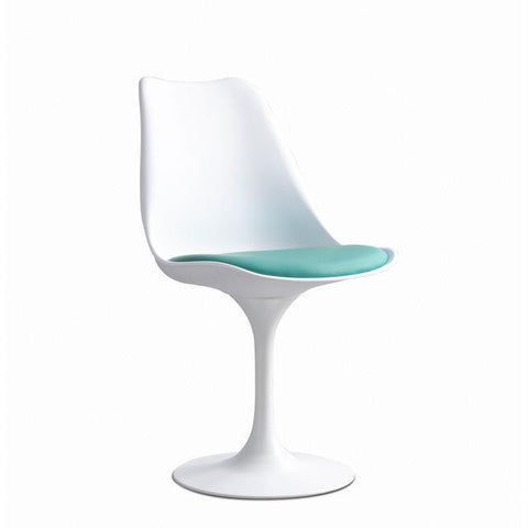 Chaise Scandinave </br> Turquoise Tulipe