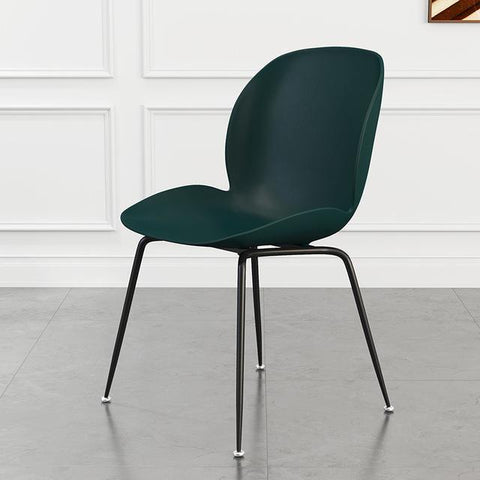 Chaise Scandinave </br> Verte Coccinelle