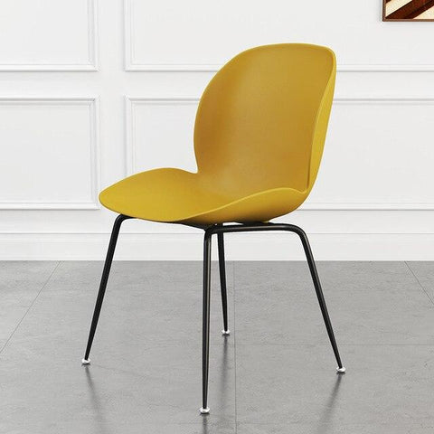 Chaise Scandinave </br> Jaune Coccinelle