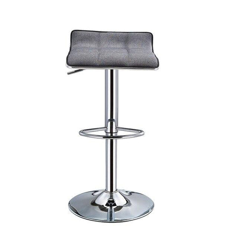 Tabouret de Bar Scandinave </br> Pivotant Gris SCALE (Lot de 2)