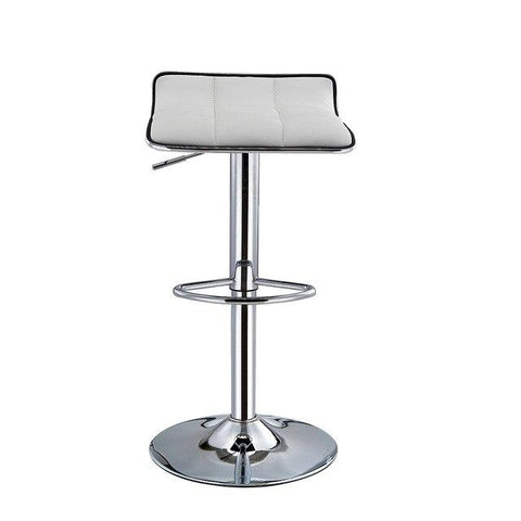 Tabouret de Bar Scandinave </br> Pivotant Blanc SCALE (Lot de 2)