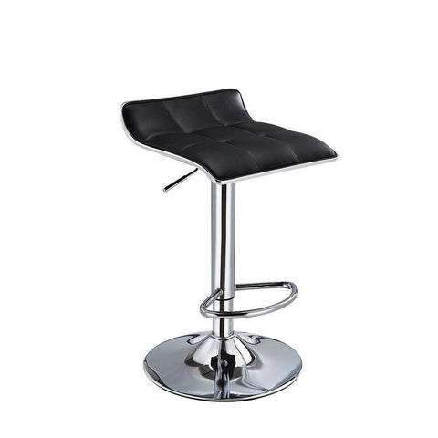 Tabouret de Bar Scandinave </br> Pivotant Noir SCALE (Lot de 2)