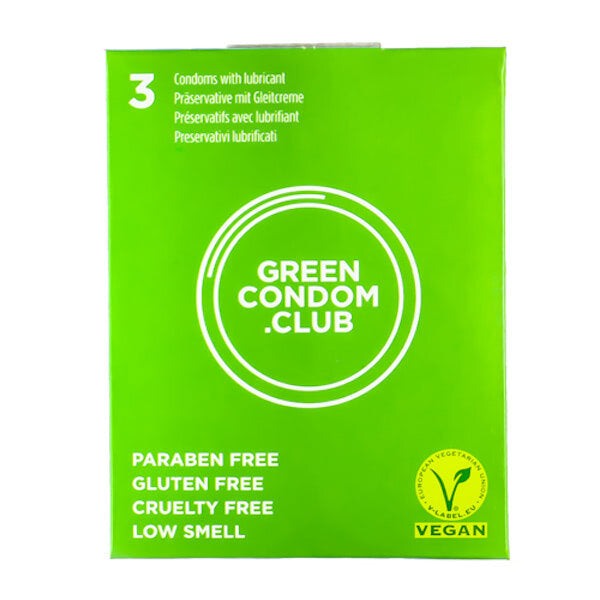 3 Green Condoms