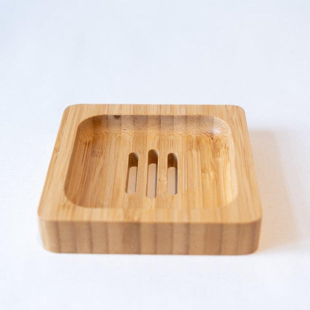 Square Bamboo Soap Holder
