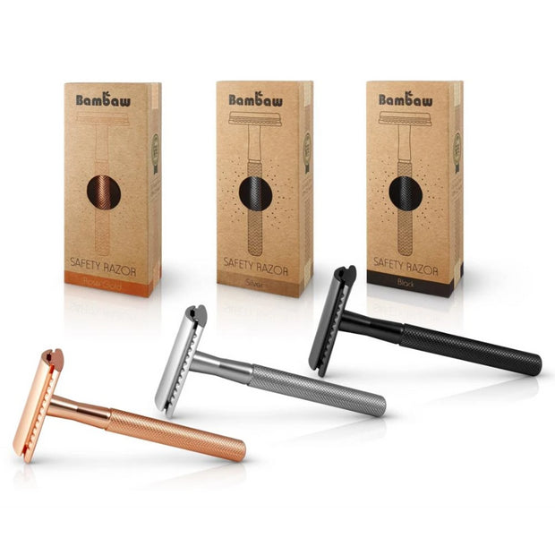 Metal Safety Razor-Bambaw-Kami Store