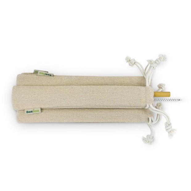 25 Individually Packed Bamboo Straws-Bambaw-Kami Store