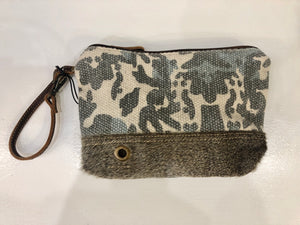 Myra Camo Splat Hide Clutch