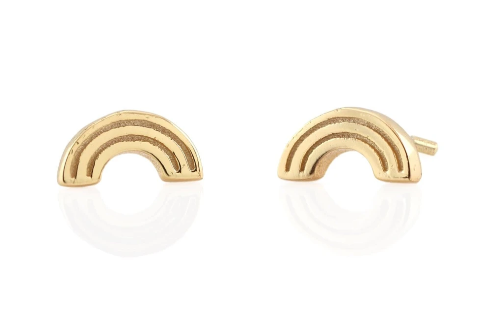 KN Rainbow Stud Earrings