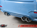 AWE TRACK EDITION EXHAUST (RESONATED) - F8X M3, M4