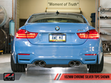 AWE RESONATED TRACK EDITION EXHAUST - F8X M3, M4