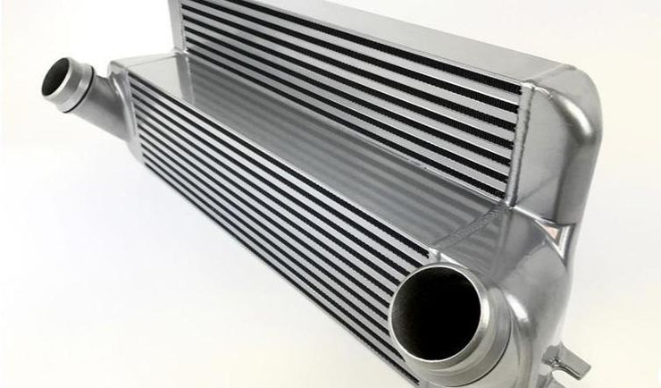 CSF N55 / N20 HIGH PERFORMANCE STEPPED CORE BAR / PLATE INTERCOOLER SILVER - F2X M235i | F3X 3-SERIES | F3X 4-SERIES | F87 M2