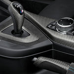 BMW M Performance Carbon Fiber and Alcantara Double-Clutch Transmission Interior Equipment Kit
