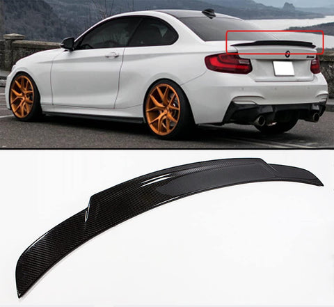 M2 CARBON FIBER HIGHKICK EXTENDED TRUNK LIP
