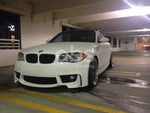 BMW E82 1-SERIES 1M STYLE FRONT BUMPER w/ FOG LIGHTS