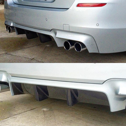 BMW F10 M5 Carbon Fiber Rear Center Diffuser
