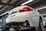 BMW F32/F36 PERFORMANCE STYLE REAR DIFFUSER