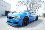 CS Style Carbon Fiber Lip (Thin Edition) - F80 M3 / F82 M4 / F83 M4