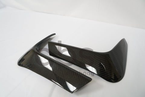 F8X REAR CARBON FIBER BUMPER SPLITTERS