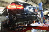 BMW F3X 3-SERIE REAR DIFFUSER w/ THIRD BRAKE LAMP