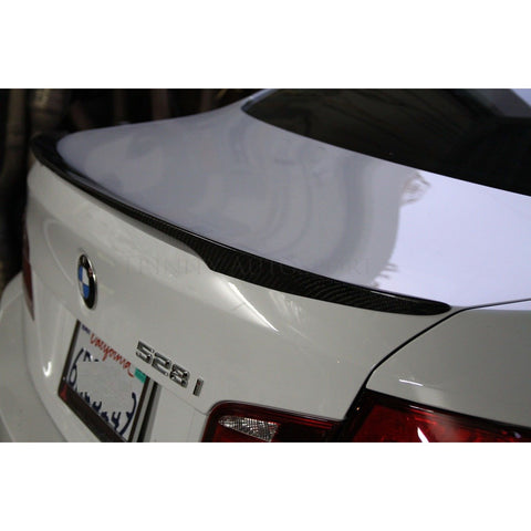 BMW F10 PERFORMANCE STYLE CARBON FIBER SPOILER