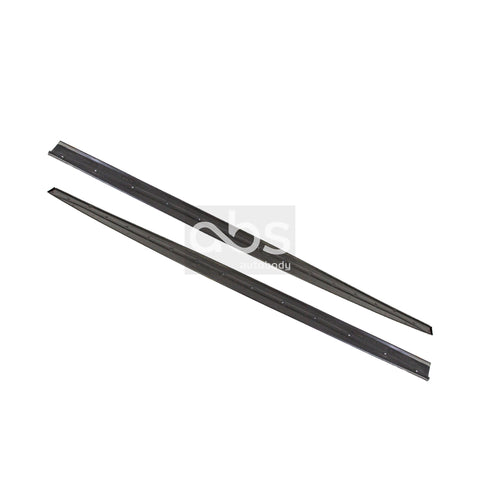 BMW F30 PERFORMANCE STYLE CARBON FIBER SIDE SKIRT EXTENSIONS