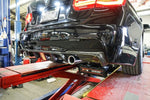 BMW F30 ONLY 3-SERIE REAR DIFFUSER w/ THIRD BRAKE LAMP