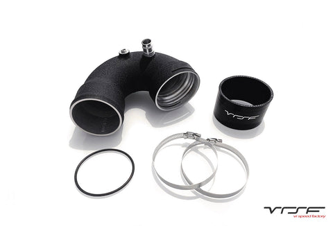 VRSF UPGRADED S55 COLD SIDE J-PIPE CHARGEPIPE - F8X M3 / M4 | F87 M2 COMPETITION